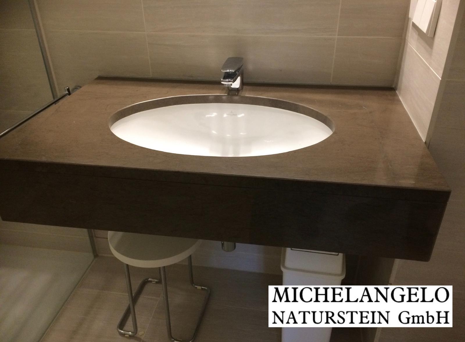 Michelangelo Naturstein für Badezimmer